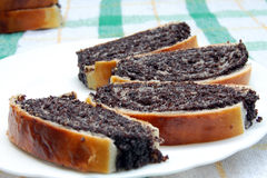 Торт макового семенени Стоковые Изображения