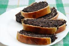Торт макового семенени Стоковые Фотографии RF