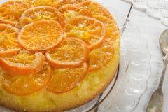 Торт мандарина стоковая фотография rf