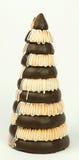 Торт марципана на Новый Год Стоковые Изображения RF