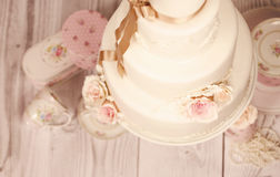 Торт марципана Стоковое фото RF