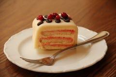 Торт марципана стоковое изображение rf