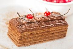 Торт меда стоковая фотография