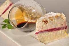 Торт мороженого Стоковые Изображения
