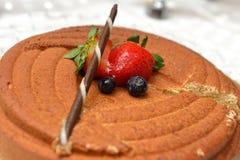 Торт мусса пралине Стоковые Изображения RF