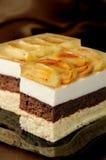 Торт мусса Стоковые Фото