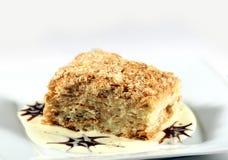 Торт Наполеона Стоковые Фото