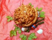 Торт на праздник Стоковое Изображение RF