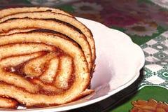 торт на плите Стоковые Фото