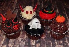 Торт на хеллоуине - изверги Стоковая Фотография