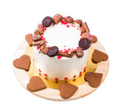 Торт на a Стоковое Изображение