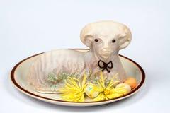Торт овечки пасхи Стоковые Изображения