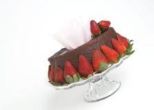 торт опрокинул Стоковые Фото
