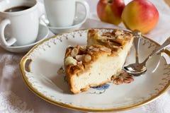 Торт очень вкусного яблока Стоковые Фотографии RF