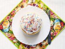 торт пасха домодельная Стоковые Изображения RF
