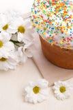 торт пасха цветет белизна Стоковое Фото