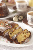 торт пасха Стоковое Фото