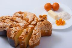 Торт пасхи стоковое изображение