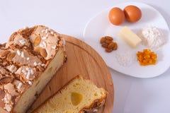 Торт пасхи Стоковые Фото