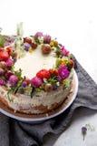 Торт печенья лета стоковое изображение rf