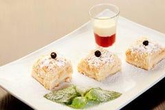 Торт печенья слойки Стоковое Фото