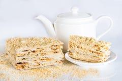 Торт печенья слойки Стоковое Изображение RF