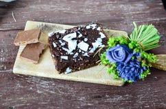 Торт пирожного гайки шоколада Стоковая Фотография RF