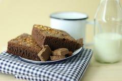 Торт пирожного хлебопекарни Стоковые Фотографии RF