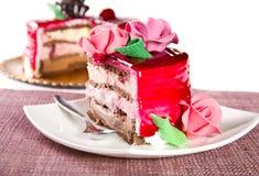 Торт плодоовощ стоковые фотографии rf