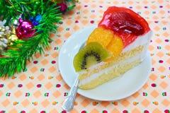 Торт плодоовощ. Стоковое Фото