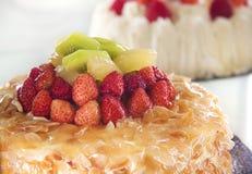 Торт плодоовощ Стоковое Фото