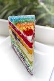 Торт радуги Стоковое Изображение