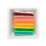 Торт радуги Стоковая Фотография RF