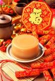 Торт риса на китайский Новый Год Стоковое Изображение