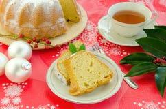 Торт рождества стоковое изображение