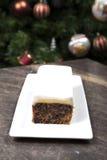Торт рождества Стоковая Фотография RF