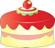 Торт рождества Иллюстрация вектора