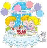 Торт рождества Стоковое Изображение RF