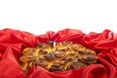 Торт роз на женщины и день матери Стоковое фото RF