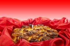 Торт роз на женщины и день матери Стоковое Изображение