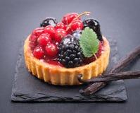 Торт свежих фруктов Стоковая Фотография