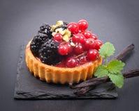 Торт свежих фруктов Стоковое фото RF