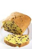 Торт сливы с шоколадом Стоковая Фотография