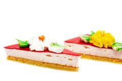 торт соединяет 2 стоковые изображения