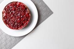 Торт студня поленики r стоковое изображение rf