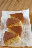 Торт с манной крупой Стоковое Фото