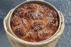 Торт с миндалиной и кардамоном Стоковые Изображения RF