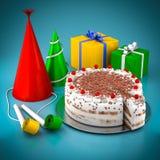 Торт с обломоками шоколада Стоковые Изображения RF