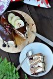 Торт слоя груши стоковые изображения rf