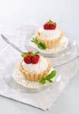 Торт с сливк Стоковые Изображения RF